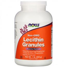 NOW Лецитин в гранулах 454 г